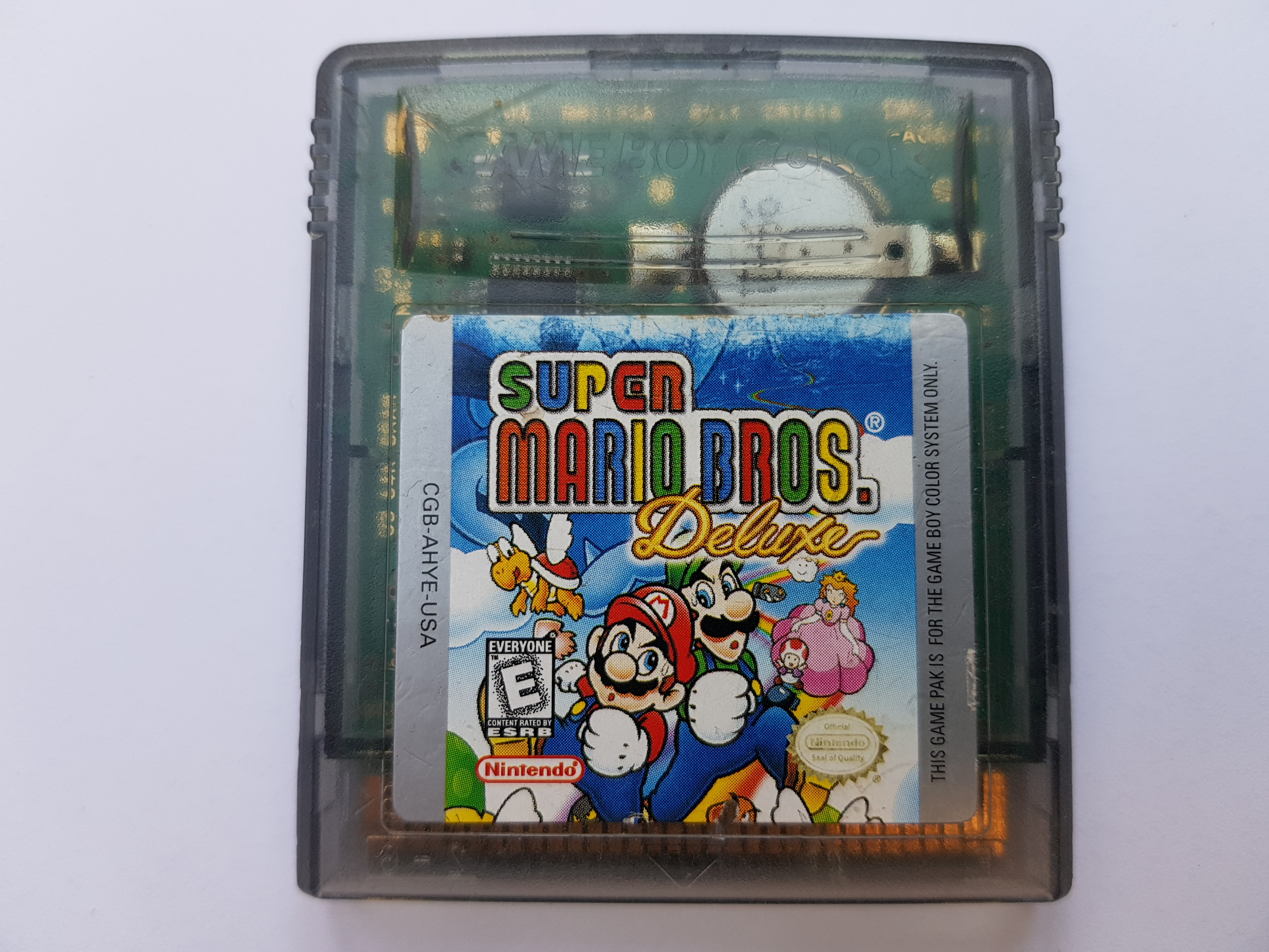 Buy Gbcolor Super Mario Bros Deluxe games Used Preowned