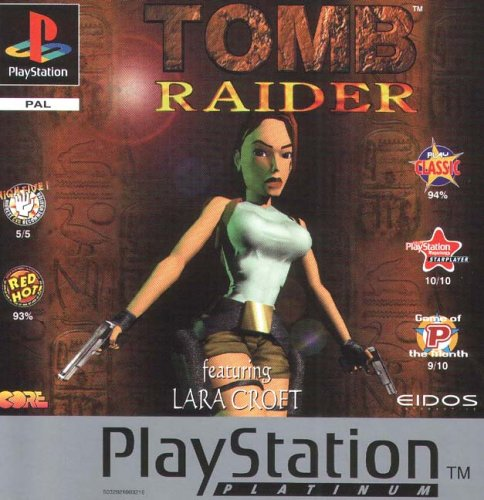 Buy Ps1 Tomb Raider 1 Platinum Games Used Preowned Secondhand